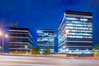 silesia_business_park_night